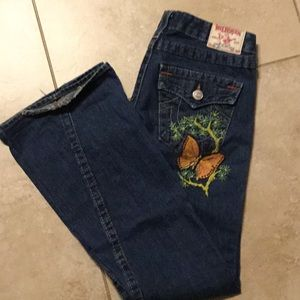 Sz 27 non stretchy beautiful jeans